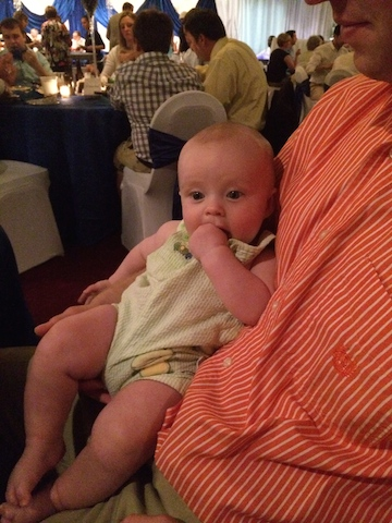 Hudson's first wedding