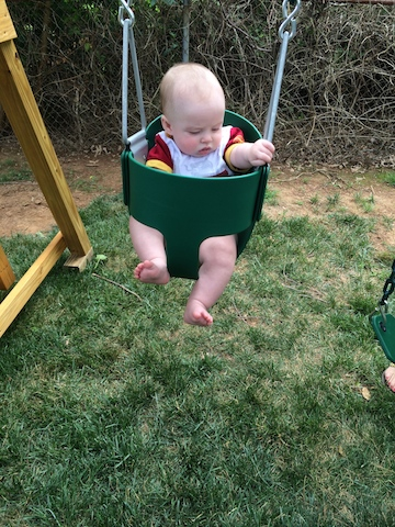 first time swinging