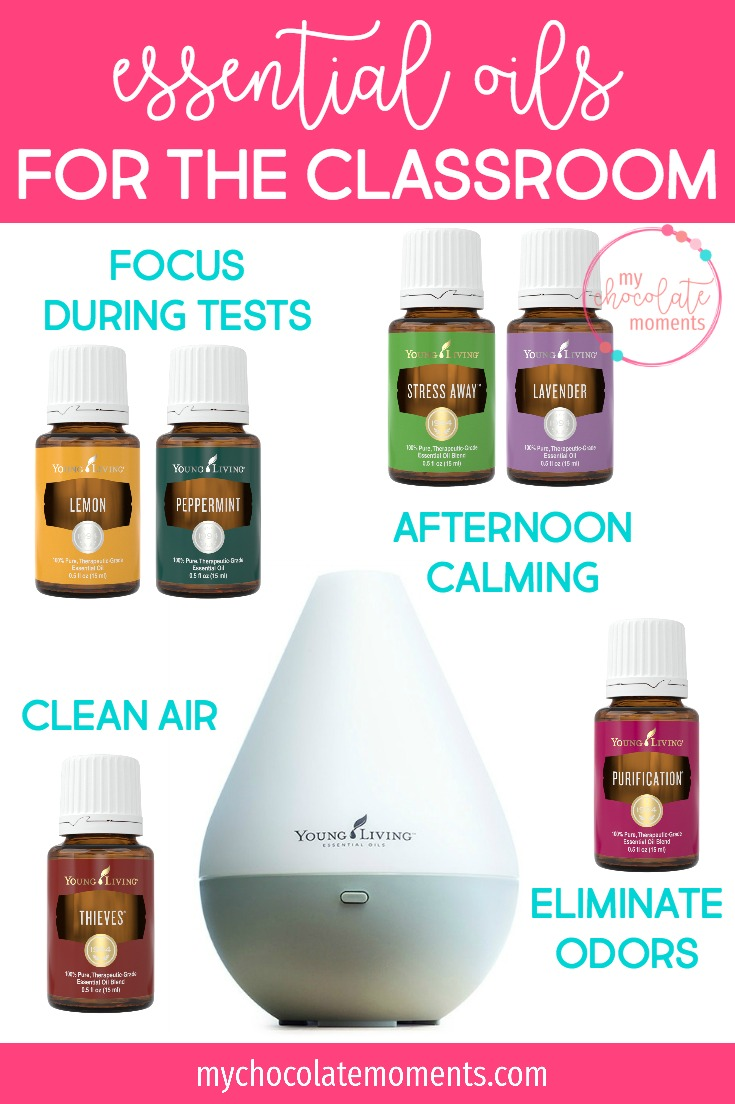 essential oils for the classroom | essential oils | Young Living | school | classroom | diffuser