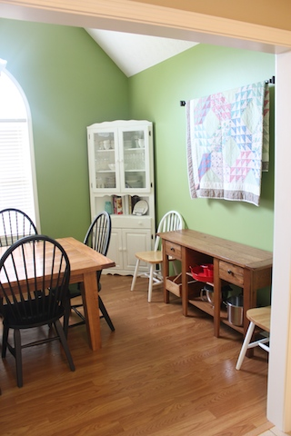 green dining room 4
