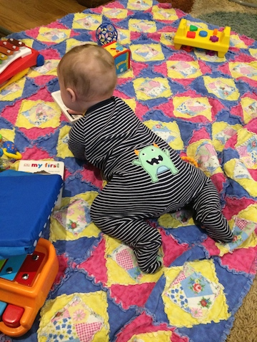 getting close to crawling