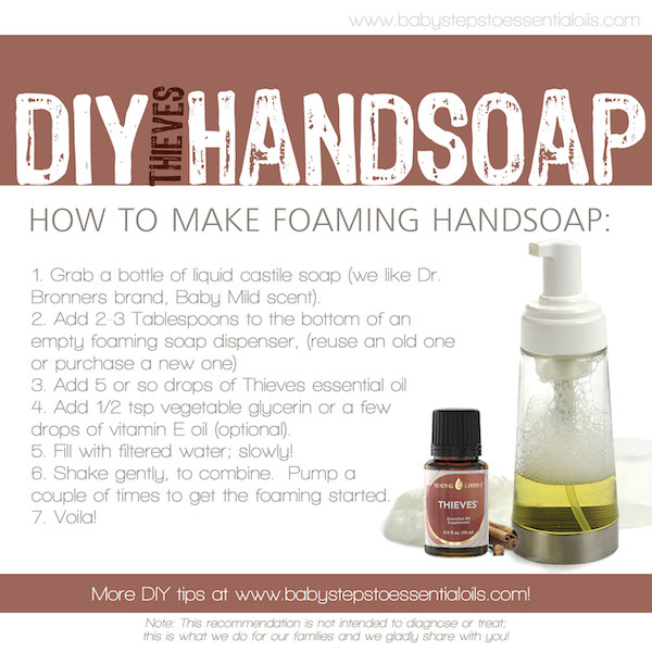 diy thieves hand soap