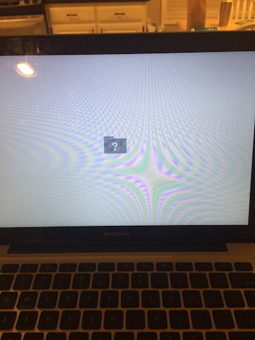 gray screen of death