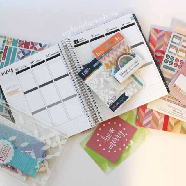 So super excited to get my 2017 erincondren Life Plannerhellip