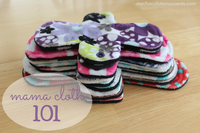 Pink Lemonade Shop mama cloth pads