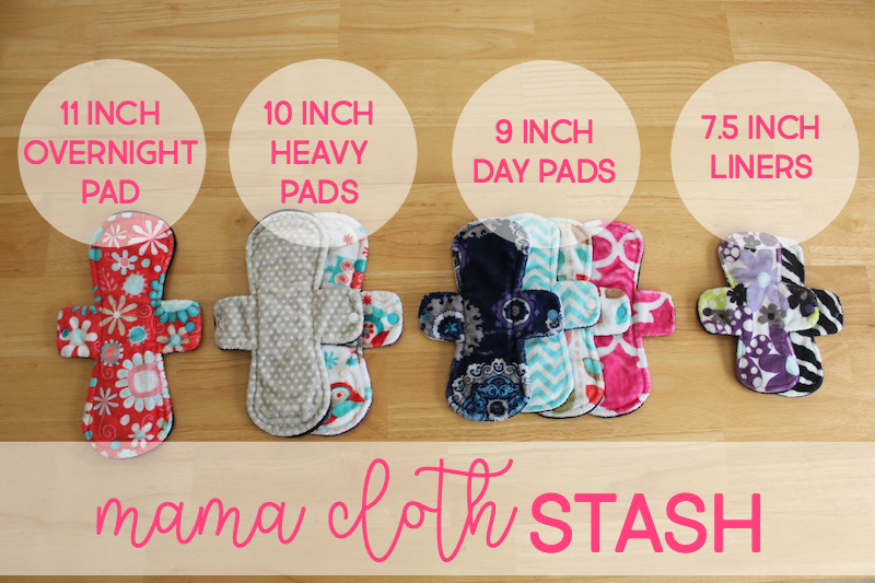 pink lemonade shop mama cloth stash