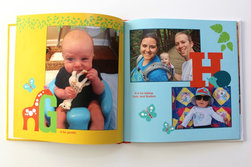 how to make a personalized ABC book for your child