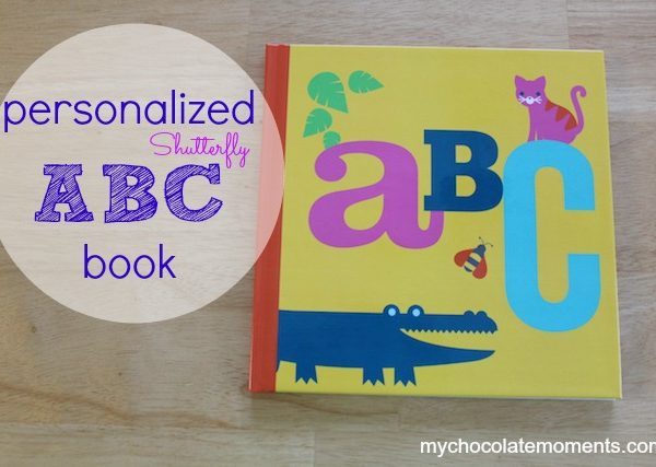 A personalized ABC book