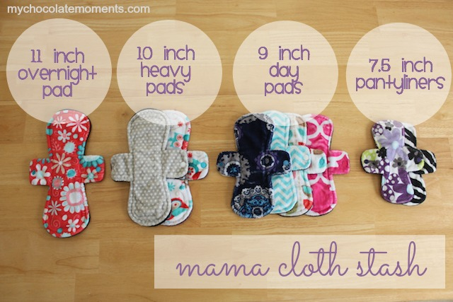 pink lemonade mama cloth stash