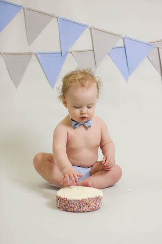 12 month pictures smash cake