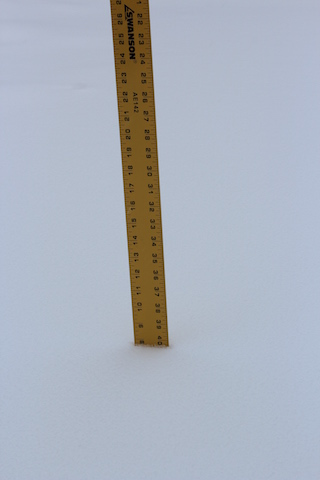 10 inches of snow in Kentucky