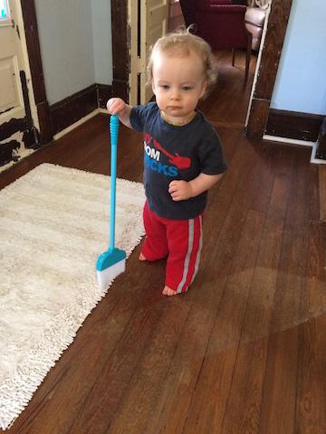 toddler broom