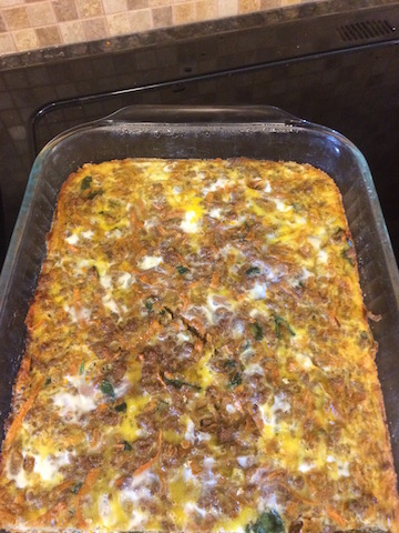 #whole30 southwest breafkast casserole