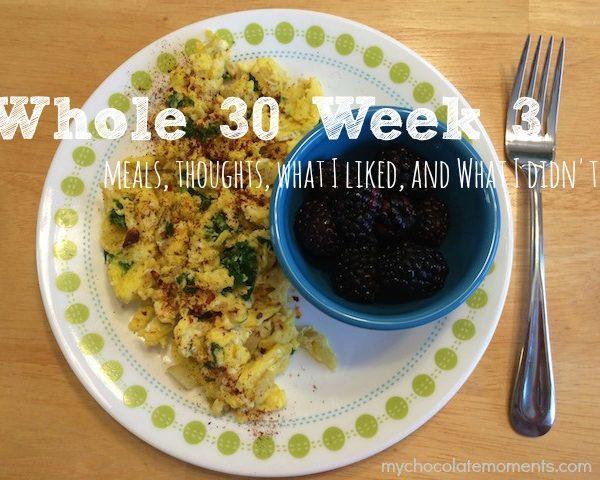 whole30 week  3