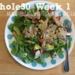 Whole30 Week 1 {meal plan, recipes, and thoughts}