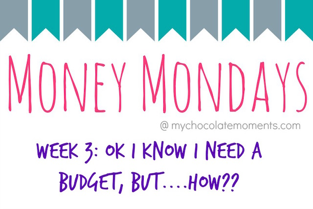 money monday week 3 - my favorite program for budgeting