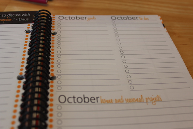 thepolkadotposie planner monthly goals