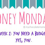 Money Mondays – You Need a Budget!