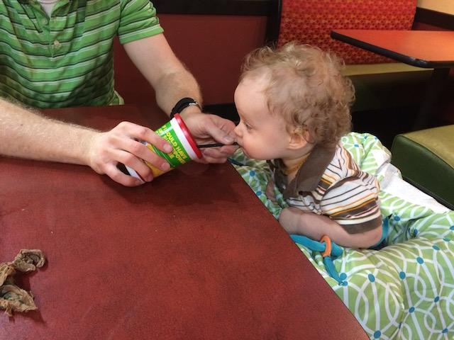Kid's meal at Moe's