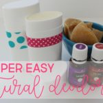 easy (and effective!) homemade deodorant