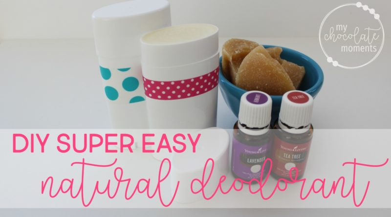 DIY super easy natural deodorant made with Young Living essential oils | After tons and tons