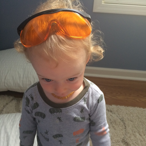 Daddy's sunglasses