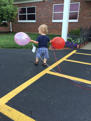 balloons at VBS