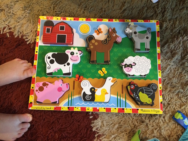 Melissa and Doug farm puzzle