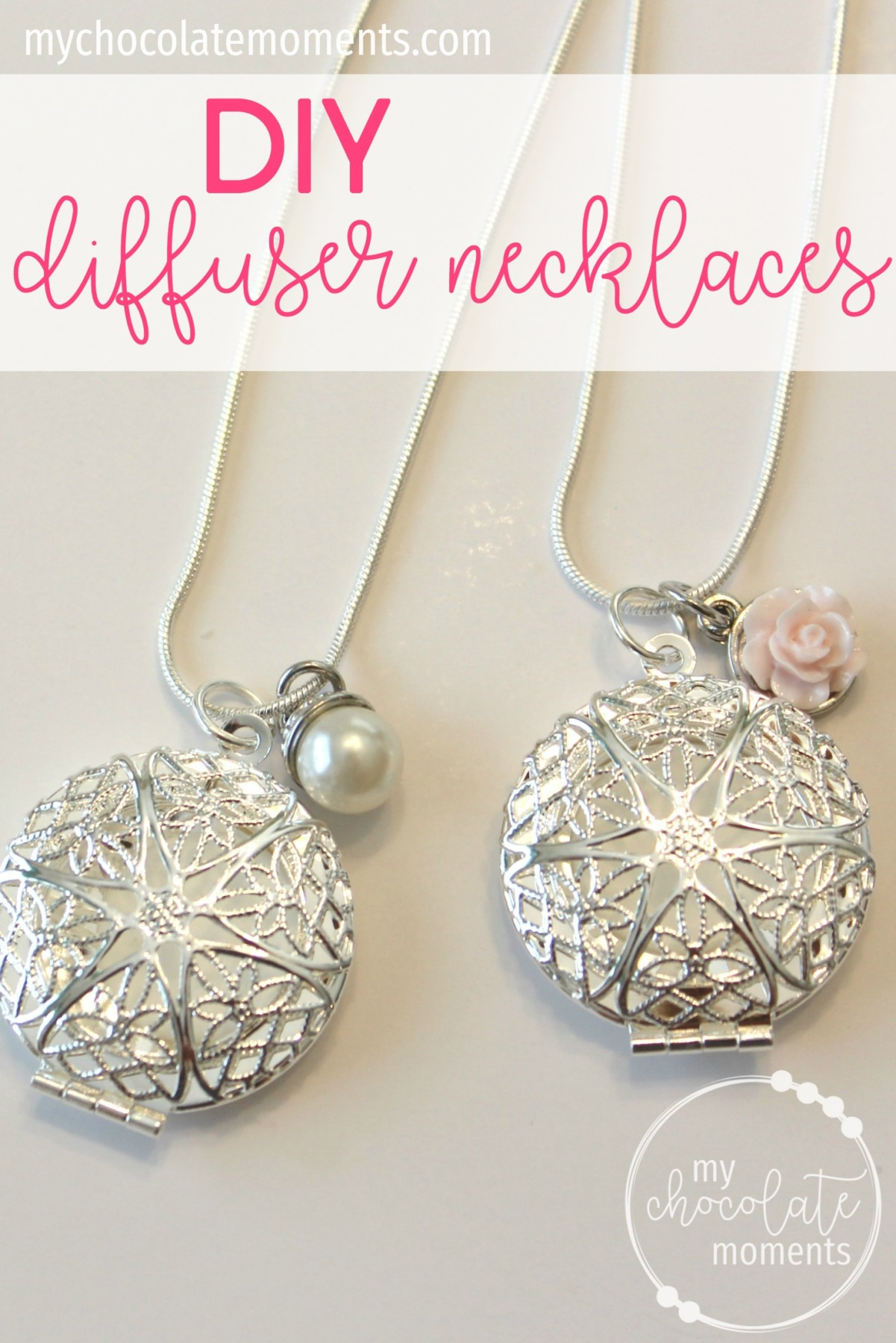 DIY diffuser necklaces | supplies, instructions, and how to