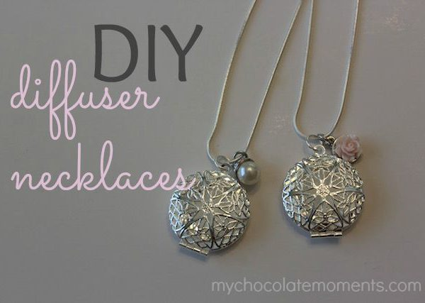 DIY diffuser necklaces