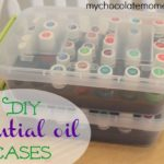DIY essential oil storage solutions