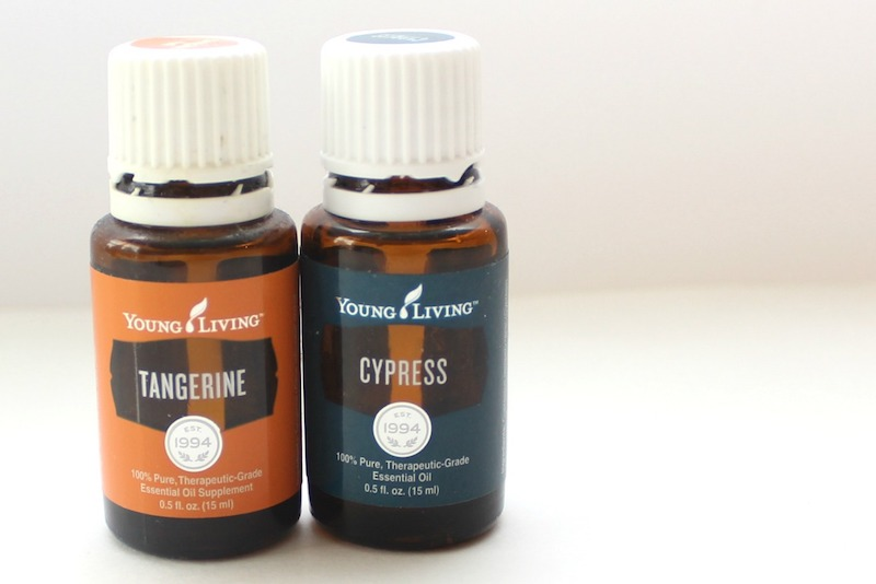 tangering and cypress essential oil
