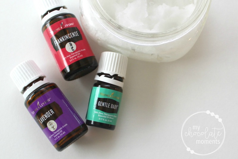 DIY preggy belly cream with Young Living essential oils