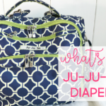 What's in my diaper bag?  Ju-Ju-Be BFF review