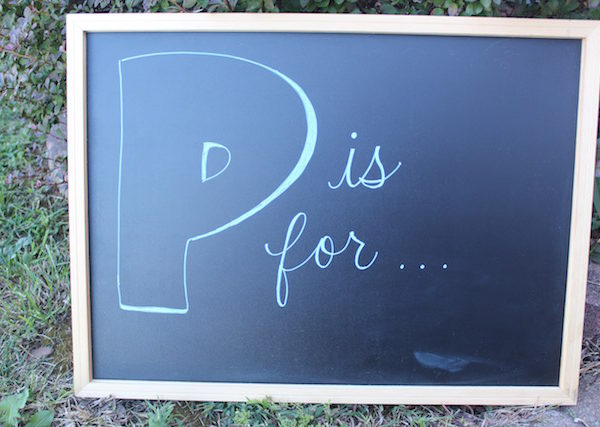 P is for…