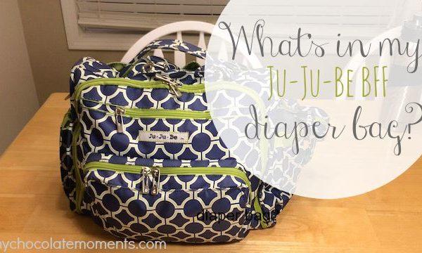 What's in my diaper bag?  Ju-Ju-Be BFF review