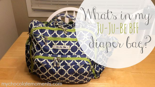 What's in my Ju-Ju-Be BFF diaper bag