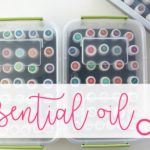 DIY essential oil storage solutions