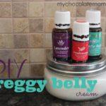 DIY preggy belly cream