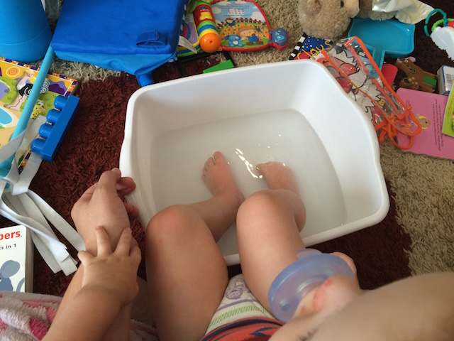 hand foot and mouth foot soak