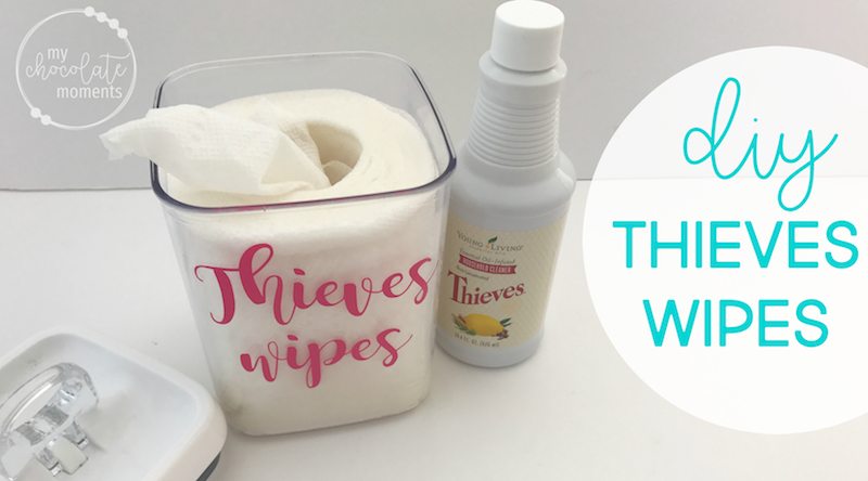 DIY Thieves wipes recipe