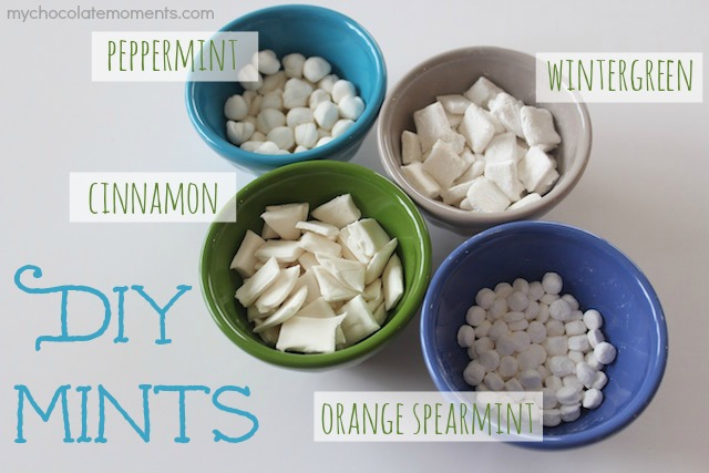 DIY mints using essential oils