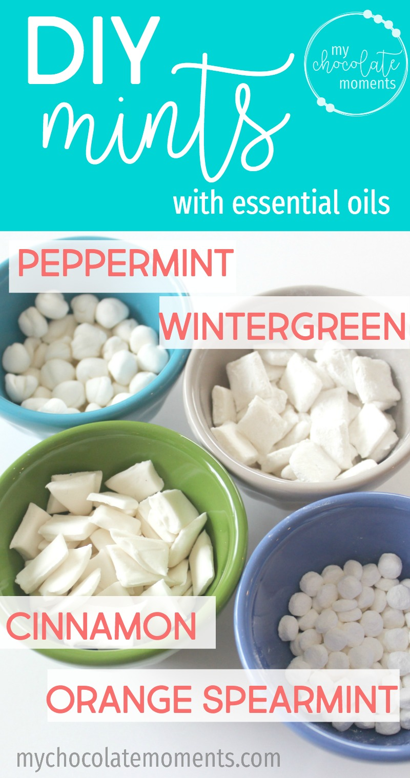 DIY mints with essential oils