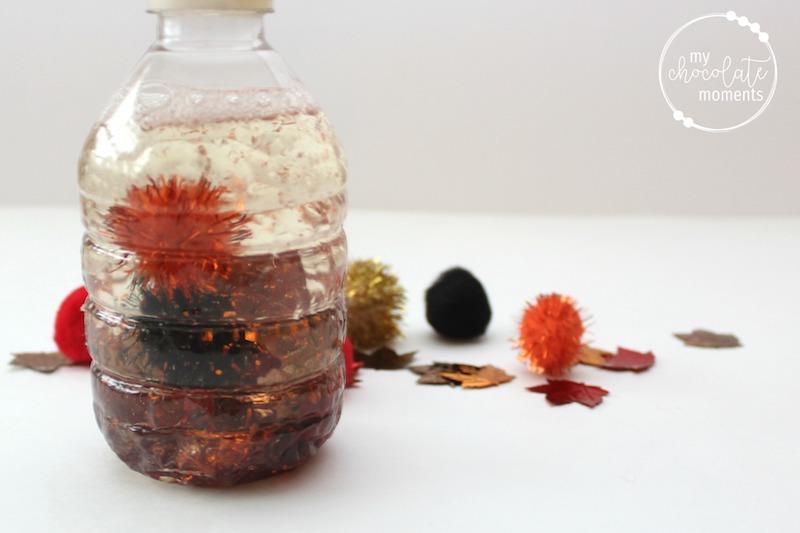 DIY sensory bottles