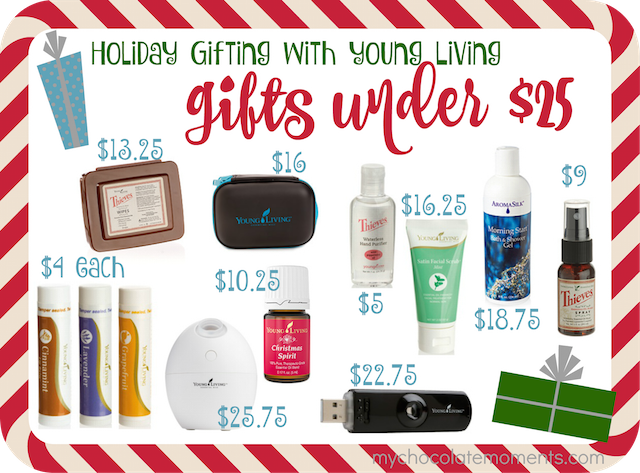 ... Christmas gift ideas under $25. Save - Young Living Essential Oil Christmas Gift Ideas Under $25 - My