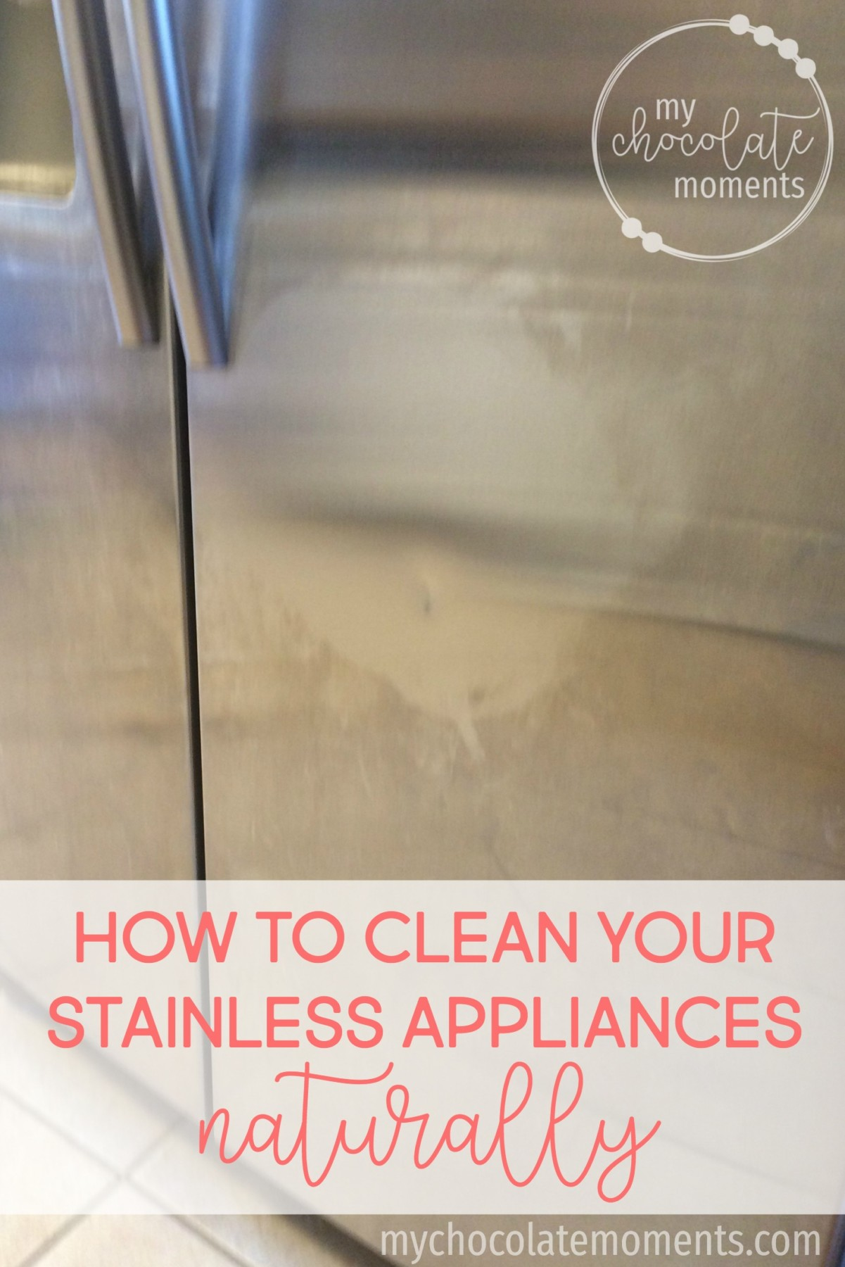 how to clean your stainless appliances naturally