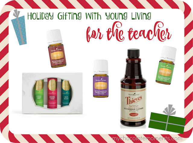 essential oil Christmas gift ideas for teachers