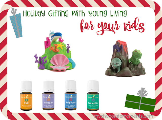 essential oil Christmas gift ideas for your kids