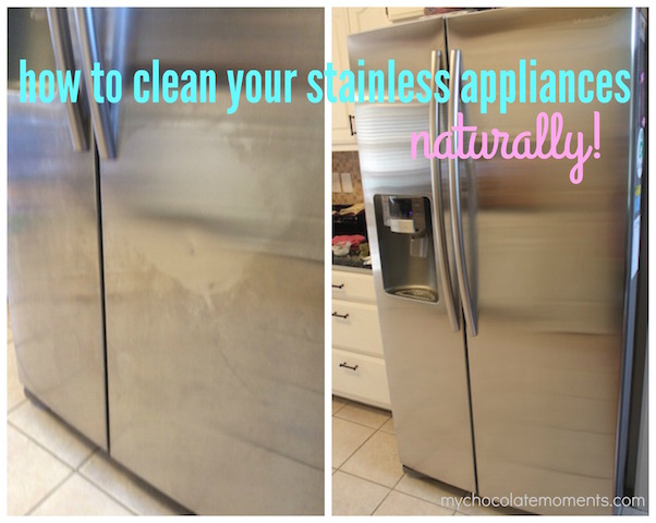 how to clean your stainless appliances