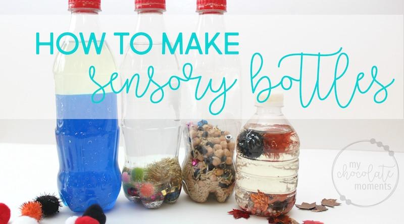 how to make sensory bottles